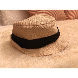 Cute Fedora/Sun hat with black sash